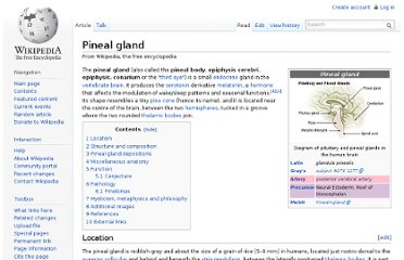http://en.wikipedia.org/wiki/Pineal_gland#Pathology