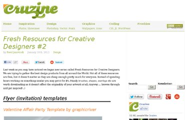 http://www.cruzine.com/2012/01/18/fresh-resources-creative-designers-2/