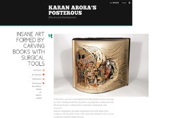 http://karanarora.posterous.com/insane-art-formed-by-carving-books-with-surgi