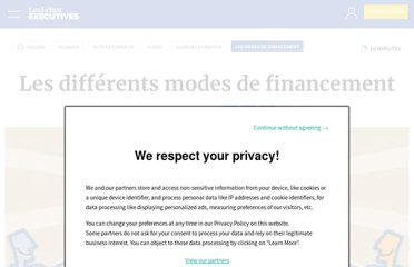 http://entrepreneur.lesechos.fr/entreprise/creation/guide-de-la-creation/mode-de-financement/guidechap8-3-3-les-differents-modes-de-financement-1450.php