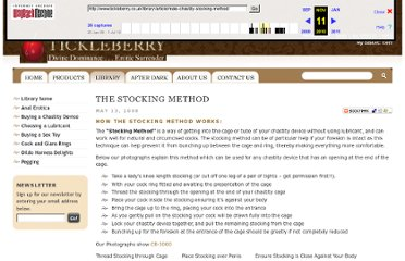http://web.archive.org/web/20101111160001/http://www.tickleberry.co.uk/library/article/male-chastity-stocking-method/
