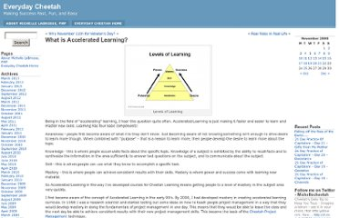 http://www.michellelabrosseblogs.com/2008/11/what-is-accelerated-learning/