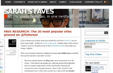 http://sarahsfav.es/2012/02/17/fave-research-the-20-most-popular-sites-pinned-on-pinterest/