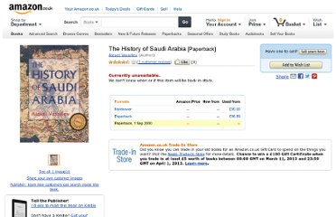 http://www.amazon.co.uk/History-Saudi-Arabia-Alexei-Vassiliev/dp/0863563996