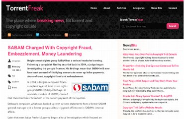 http://torrentfreak.com/sabam-charged-with-copyright-fraud-embezzlement-money-laundering-120218/