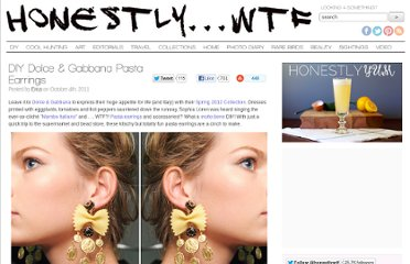 http://honestlywtf.com/diy/diy-dolce-gabbana-pasta-earrings/