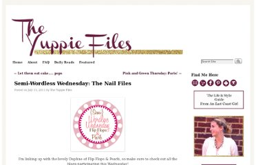 http://theyuppiefiles.com/2011/07/13/semi-wordless-wednesday-the-nail-files/#comment-130