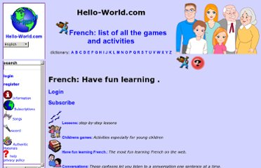 http://www.hello-world.com/French/index.php