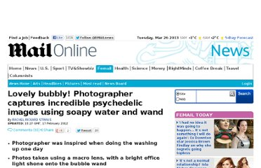 http://www.dailymail.co.uk/news/article-2102550/Lovely-bubbly-Photographer-captures-incredible-psychedelic-images-using-soapy-water-wand.html