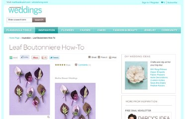 http://www.marthastewartweddings.com/226204/leaf-boutonniere-how