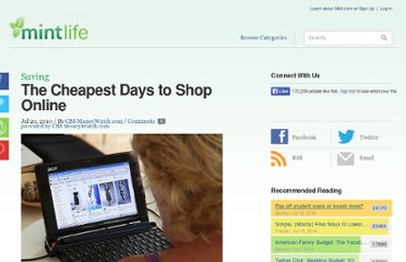 http://www.mint.com/blog/saving/the-cheapest-days-to-shop-online-07202010/