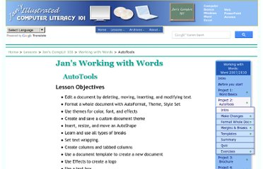 http://www.jegsworks.com/lessons/words-2/autotools/index.html