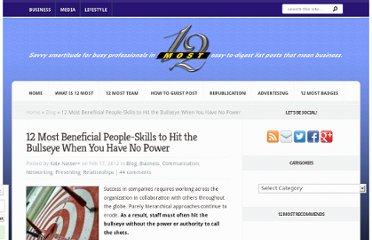 http://12most.com/2012/02/17/12-beneficial-people-skills-when-no-power/
