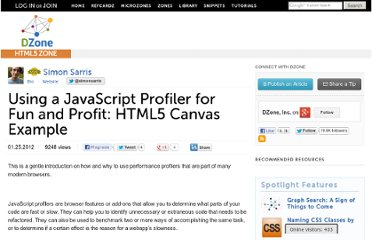http://css.dzone.com/articles/web-app-javascript-profiler-performance-profit-html5-canvas