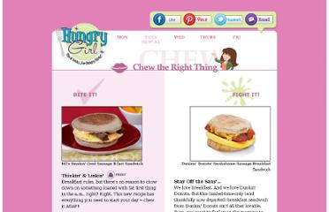 http://www.hungry-girl.com/chew/show/2209
