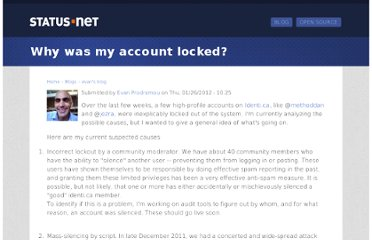 http://status.net/2012/01/26/why-was-my-account-locked