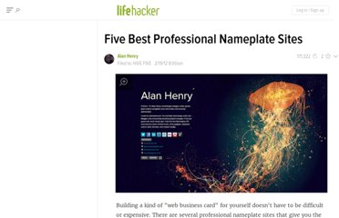 http://lifehacker.com/5886188/five-best-professional-nameplate-sites