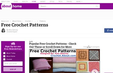 http://crochet.about.com/od/freecrochetpatterns/ss/free-crochet-patterns.htm