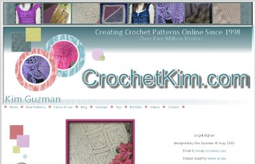 http://www.crochetkim.com/patterns/angelafghan.html