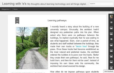http://steve-wheeler.blogspot.com/2012/02/learning-pathways.html