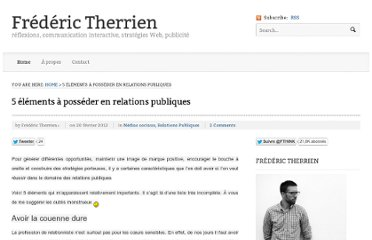 http://frederictherrien.ca/2012/02/20/5-elements-a-posseder-en-relations-publiques/