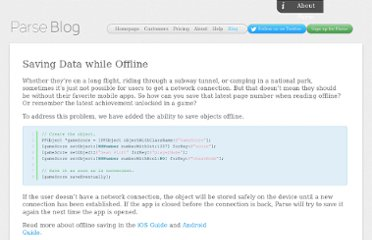 http://blog.parse.com/2012/02/17/saving-data-while-offline/