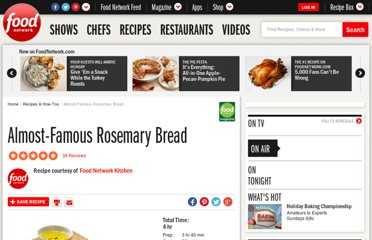 http://www.foodnetwork.com/recipes/food-network-kitchens/almost-famous-rosemary-bread-recipe/index.html