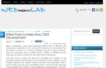 http://webinsightlab.com/design/8-best-tools-to-make-easy-css3-development/