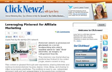 http://www.clicknewz.com/3235/pinterest-for-affiliate-marketing/