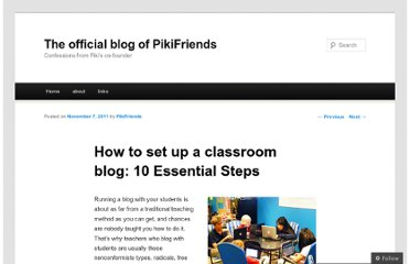 http://pikifriends.wordpress.com/2011/11/07/lesson-plan-things-you-need-to-do-before-blogging-with-students/