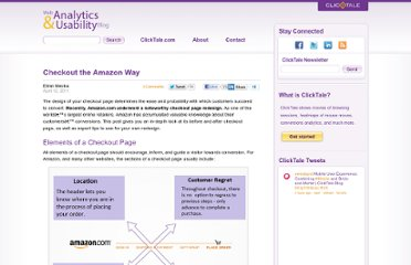 http://blog.clicktale.com/2011/04/12/checkout-the-amazon-way/