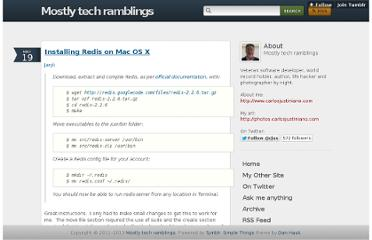 http://blog.carlosjustiniano.com/post/5656441584/installing-redis-on-mac-os-x