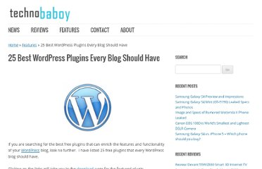 http://www.technobaboy.com/2011/08/02/25-best-wordpress-plugins-every-blog-should-have/