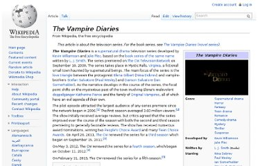 http://en.wikipedia.org/wiki/The_Vampire_Diaries