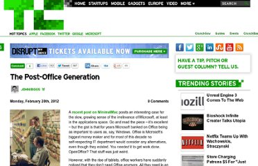 http://techcrunch.com/2012/02/20/the-post-office-generation/