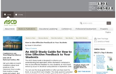 http://www.ascd.org/publications/books/108019/chapters/An-ASCD-Study-Guide-for-How-to-Give-Effective-Feedback-to-Your-Students.aspx