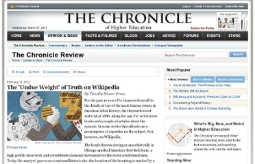 http://chronicle.com/article/The-Undue-Weight-of-Truth-on/130704/?sid=at
