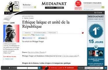 http://blogs.mediapart.fr/edition/laicite/article/140311/ethique-laique-et-unite-de-la-republique