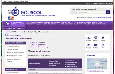 http://eduscol.education.fr/pid23244-cid46759/horaires-du-cycle-central.html#quatrieme