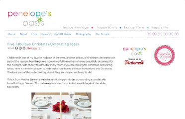 http://penelopesoasis.com/2011/christmas-decorating-ideas.html