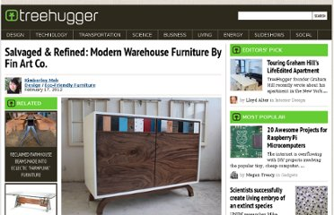 http://www.treehugger.com/eco-friendly-furniture/warehouse-recycled-furniture-fin-art-co.html