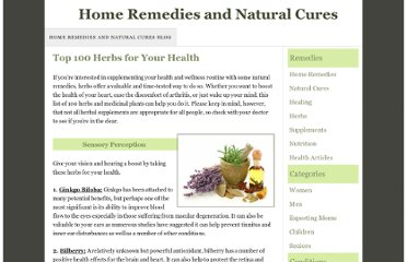 http://www.home-remedies-and-natural-cures.com/herbs-for-your-health.html