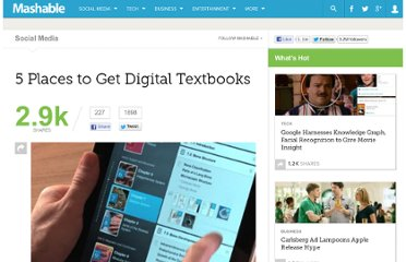http://mashable.com/2012/02/20/find-digital-textbooks/