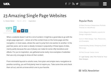 http://webdesignledger.com/inspiration/23-amazing-single-page-web-sites