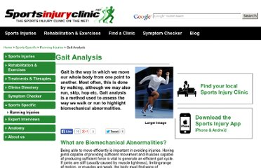 http://www.sportsinjuryclinic.net/sports-specific/running-injuries/gait-analysis