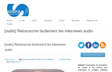 http://www.samsa.fr/2012/02/21/outils-retranscrire-facilement-les-interviews-audio/