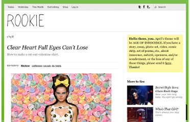 http://rookiemag.com/2012/02/clear-heart-full-eyes-cant-lose/
