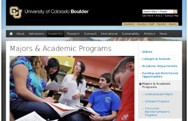 http://www.colorado.edu/academics/majors-academic-programs