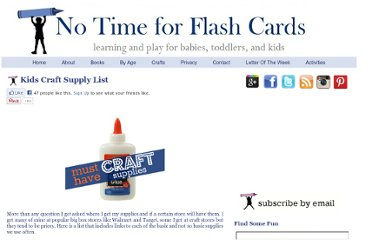 http://www.notimeforflashcards.com/crafts/supply-list