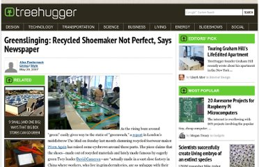 http://www.treehugger.com/style/greenslinging-recycled-shoemaker-not-perfect-says-newspaper.html